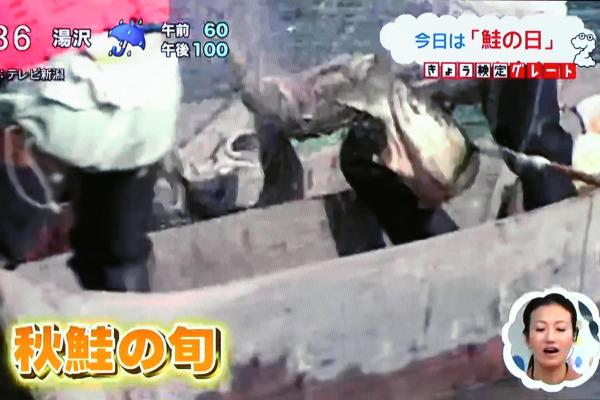 鮭のまち新潟県村上市