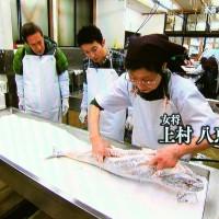 塩引鮭作り体験