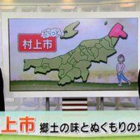 NHKぷらっとわがま大町文庫、海鮮一鰭、塩引鮭が紹介されました