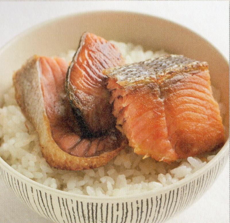 究極に近い白飯の食べ方 で塩引鮭が紹介されました